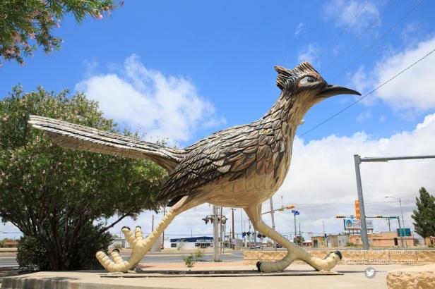 Paisano Pete, the former world's tallest roadrunner statue.