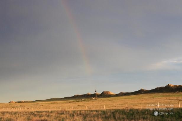 Rainbow in Montana