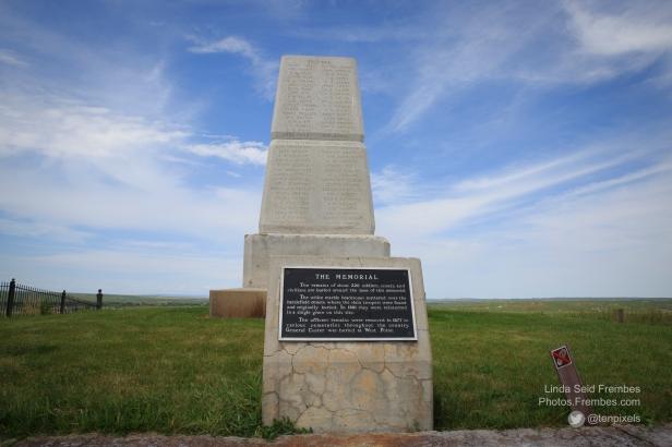 Memorial at Custer's Last Stand