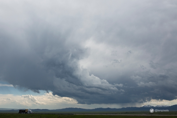 Storm brewing in Wyoming