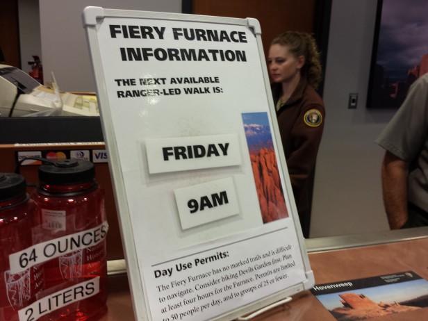 Fiery Furnace Tour