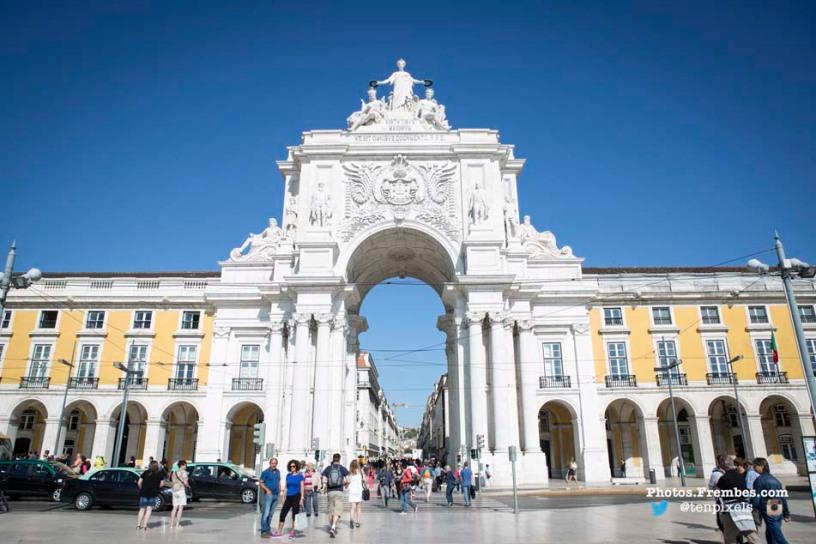 Lisbon's Commerce Square