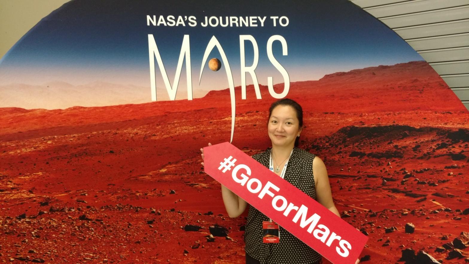 Photo from NASA Mars Day
