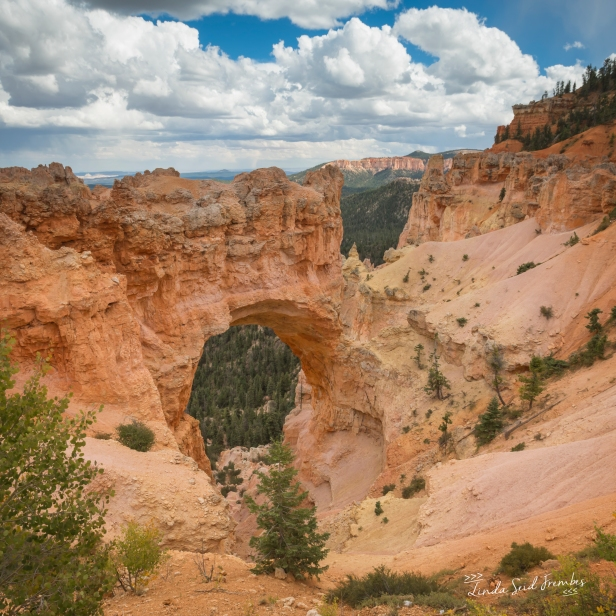 Natural Bridge in Bryce Canyon