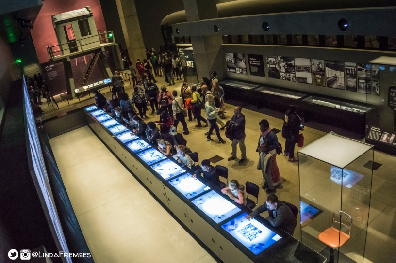 NMAAHC interactive lunch counter exhibit